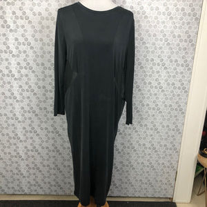 H&M Black Dress with Sheer Back and Sides